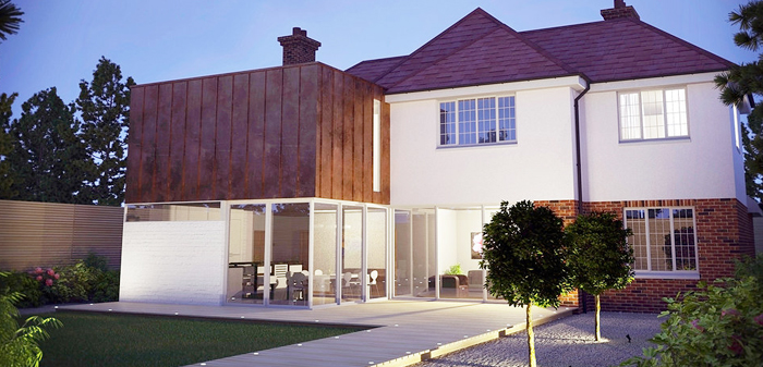home extension builders london